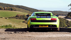 Take me to the Track! (Jerrik_B) Tags: green lamborghini gallardo nurburgring nurburg superlaggera lp570