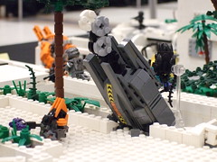 ODST Drop Pod (The Acquaintance Crate) Tags: new alexandria lego halo brickcon odst