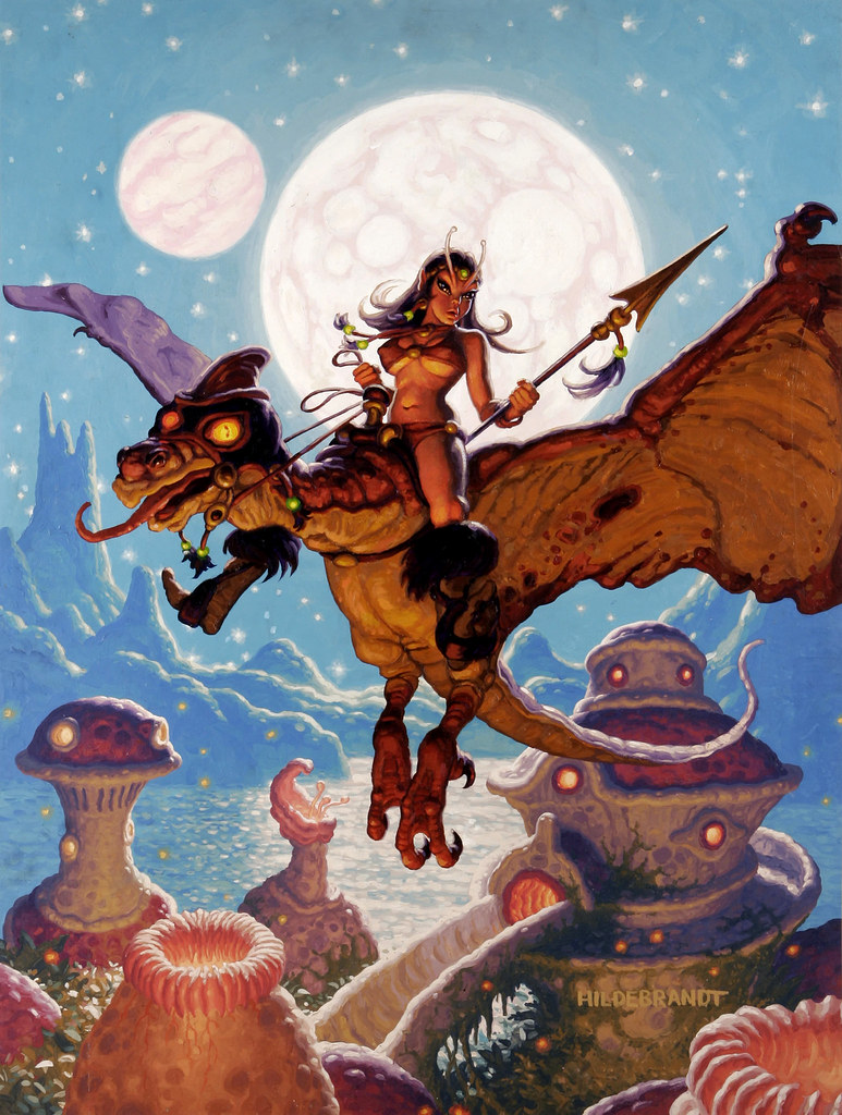 Greg and Tim Hildebrandt - Pixie Flight (undated)