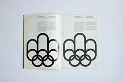 1976 Montréal Olympics Graphics Manual (AisleOne) Tags: graphics montreal manual olympics 1976 internationaltypographicstyle georgeshuel pierreyvespelletier