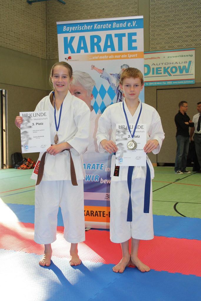 Laura Arnhold und Leonard Averdunk erfolgreich auf der Bayerischen Meisterschaft 2011 (Foto: Rene Arnhold)