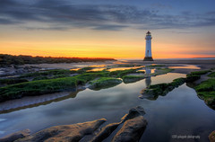 before sat nav (gobayode photography...times) Tags: lighthouse seascape coast newbrighton perchrock perchrocklighthouse britishcoasts uklighthouses wirralcoasts