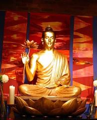 Manchester Buddhist Centre shrine