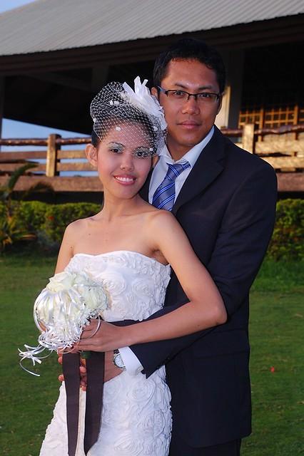 prenuptial and wedding dress