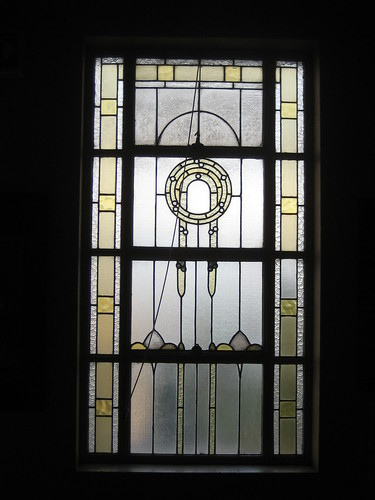 Window, Footscray Town Hall