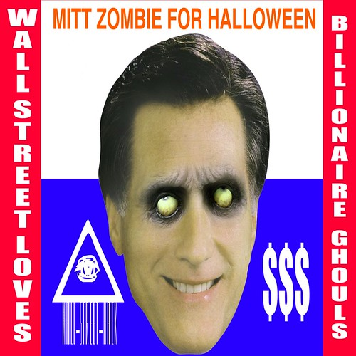 MITT ZOMBIE FOR HALLOWEEN by Colonel Flick