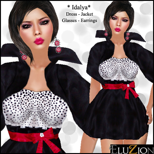Idalya Dress and Jacket, 45 lindens by Cherokeeh Asteria