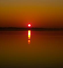 sunrise (Jane Nielsen) Tags: sea texture colors contrast sunrise horizon earlymorning september