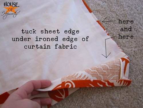 how to make curtains from fabric
