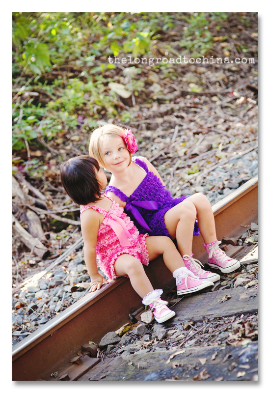 Sisters on the tracks BLOG