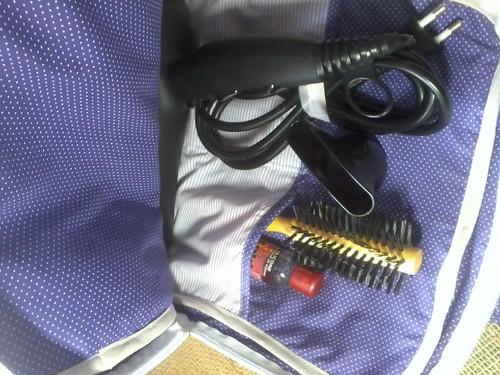 Bolsa para secador de cabelos. by ♥Paninhos em forma de amor♥