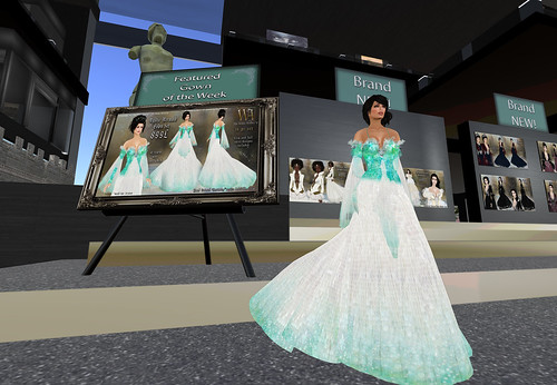 **TWA**Mystic Mermaid Gown Set, 899 lindens by Cherokeeh Asteria