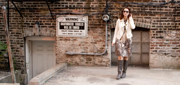 dash dot dotty, style blog, business casual, outfit ideas, dress, fall boots, floral, banana republic