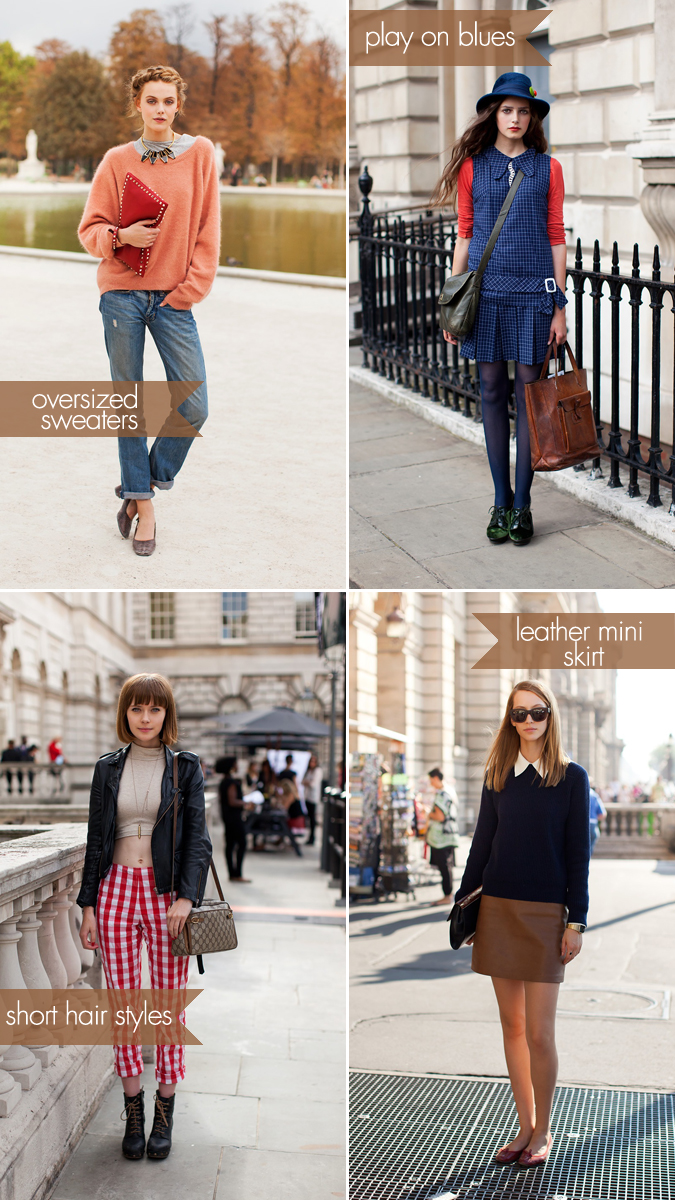 street style trends: fall 2011
