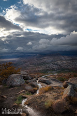 Mountain View (maxstier) Tags: sky clouds wichitamountains wichitamountainswildliferefuge lightstorm d7000