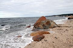 Glacial Erratics (sandy richard) Tags: usa newyork unitedstates geology wildwood wadingriver wildwoodstatepark sandyrichard longislandgeology sandrarichard