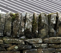IMG_8008 Stripes and Stones (Alisonashton1) Tags: roof stripes derbyshire angles drystonewall