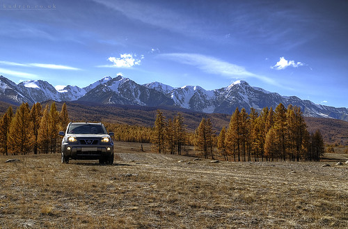 auto road autumn sky mountain car golden nikon nissan desert off tokina trail suv hdr xtrail steppe 1224 altai kurai d7000 aktru