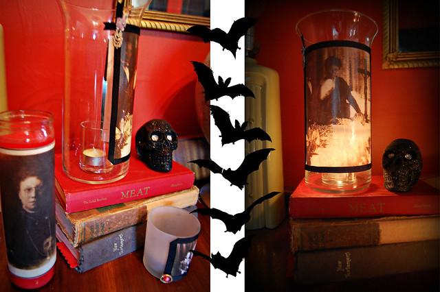 lanterns and bats