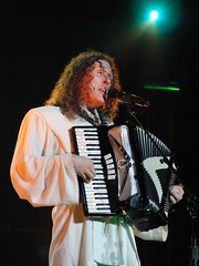 CIMG2782 (DKoontz) Tags: music rock washingtondc dc concert funny casio wierd accordian exilim apocolypse warnertheater weirdalyankovic exf1