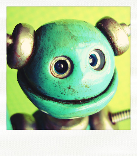 Sneak Peek | Robot is Rust-tastic Happy by HerArtSheLoves