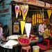 Ahmedabad - Tienda de flores para adorar a los dioses