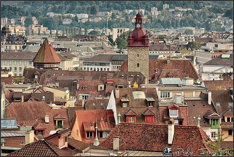 Suiza - Pueblos con encanto - Lucerna - Un pueblo grande, ¿no?