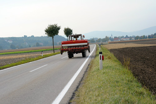 Country Highway, Near Traismauer