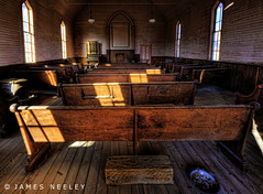 Bodie Chapel (James Neeley) Tags: california decay handheld ghosttown bodie hdr 5xp jamesneeley flickr22mammothlakes