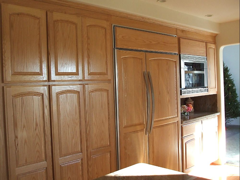 Fabulous Built-in panel-ready french door 36' refrigerator LV52