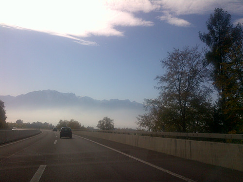 Coming into Geneva