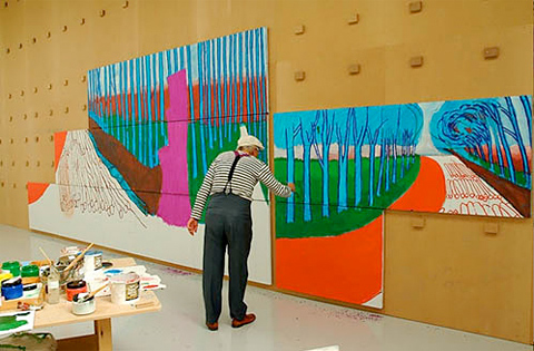david_hockney-painting