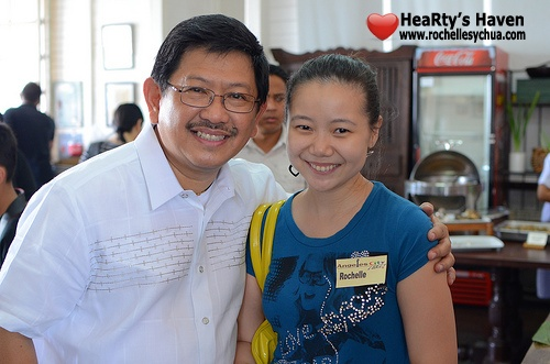 Roch with Mayor Pamintuan