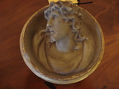 """Wax Medallion of Christ • <a style=""""font-size:0.8em;"""" href=""""http://www.flickr.com/photos/51721355@N02/6283542345/"""" target=""""_blank"""">View on Flickr</a>"""