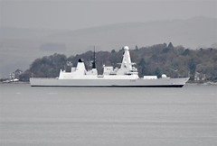 Hms Defender D36, GOUROCK (Time Out Images) Tags: scotland clyde gourock firth defender hms