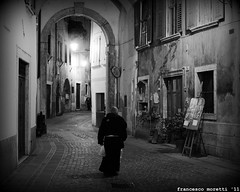 rovereto and a monk (francesco12corde) Tags: il che dei francesco moretti confraternita dello frati baccal rovereto bont vulnerabile francesco12corde stofiss