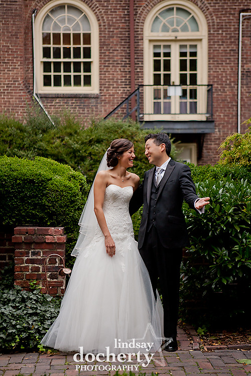 Wedding photography at Colonial Dames Philadelphia PA