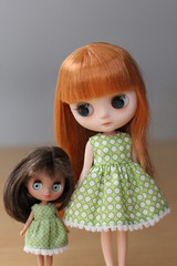 The girls have got new dresses!