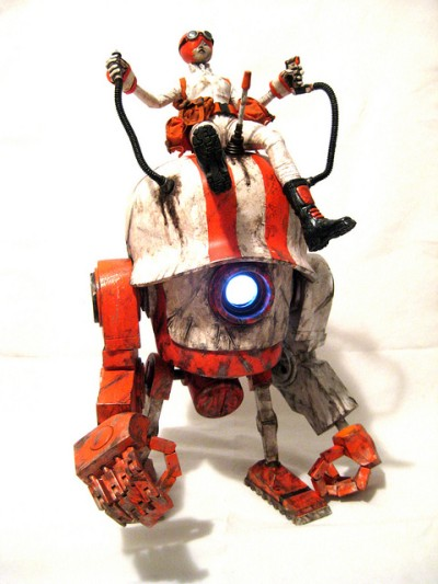 KidAkira custom Bot Head