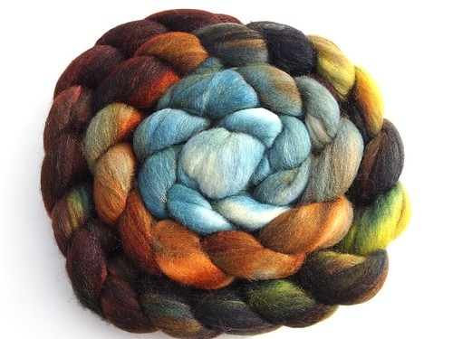 Corgi Hill Farm-80Merino-20Tussah Silk-5oz-Joshua Tree I
