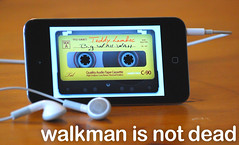 walkman is not dead (teddylambec) Tags: vintage ipod touch tape audio casette iphone k7 balladeur teddylambec