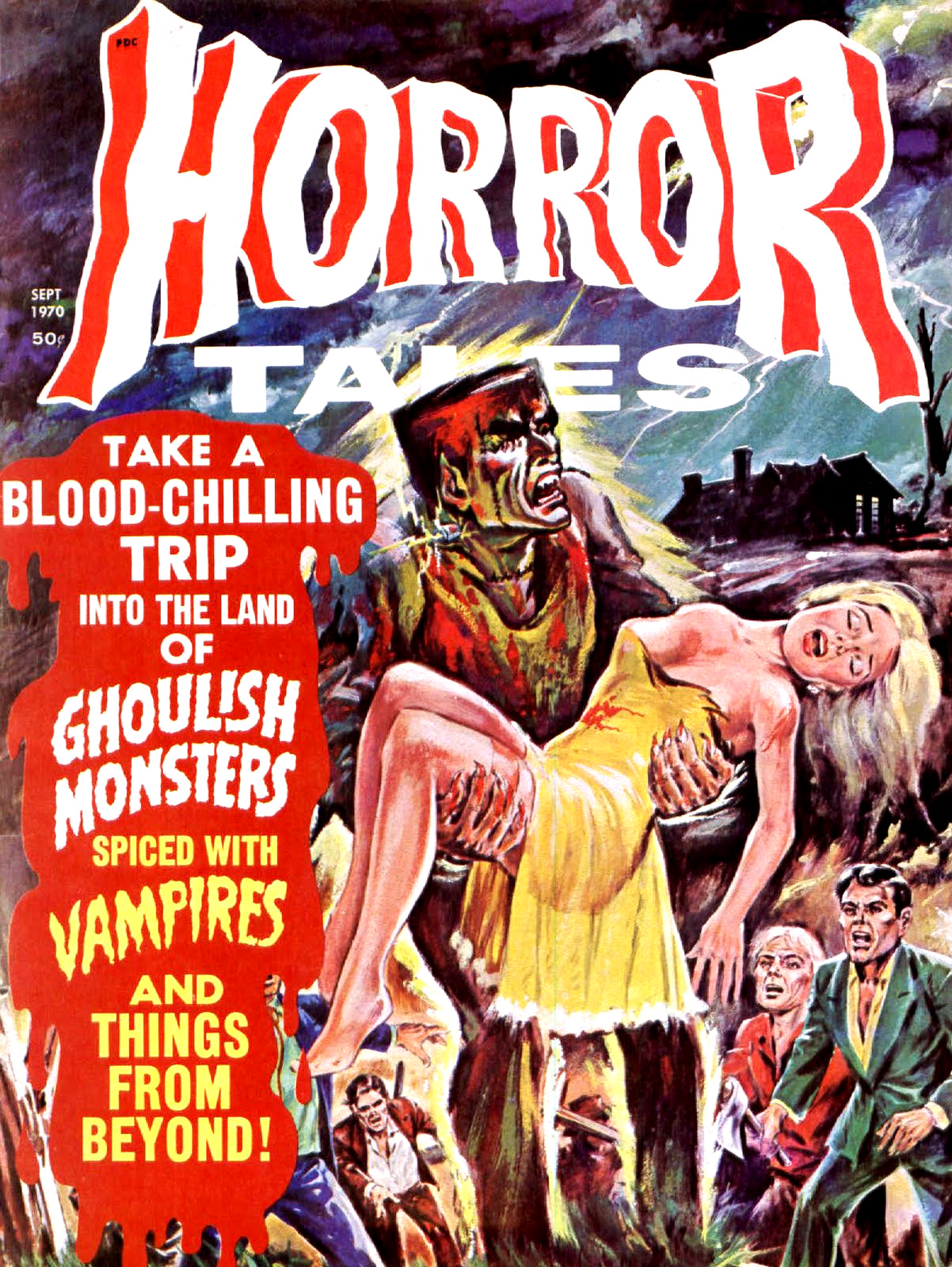 Horror Tales - Vol.2 #5 (Eerie Publications, 1970)