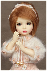 Elin  (Maram Banu) Tags: flowers white beads doll dress cream elin bjd bid bolero iplehouse fairystyle marambanu