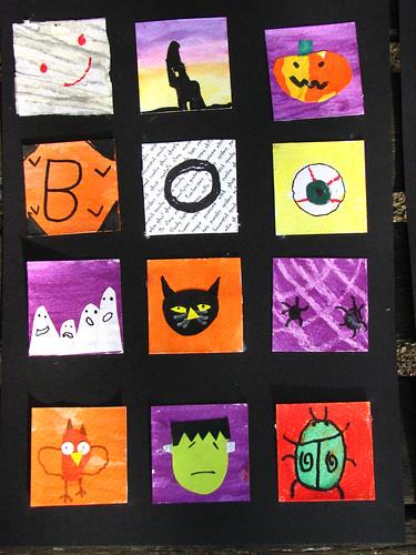 waif halloween poster
