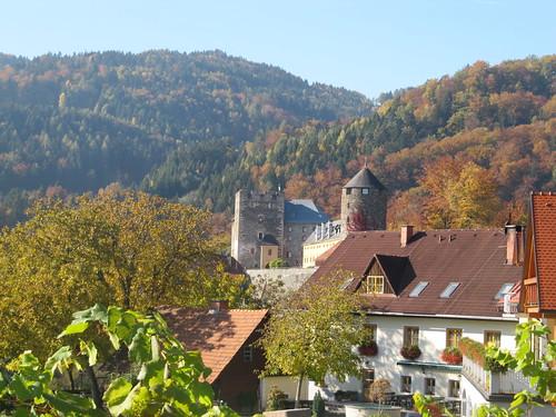 Burg im Visier