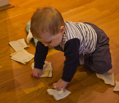 Working Hard (Duthieboy) Tags: baby daughter photoblog photojournal 2011 lilyeve blogjournal