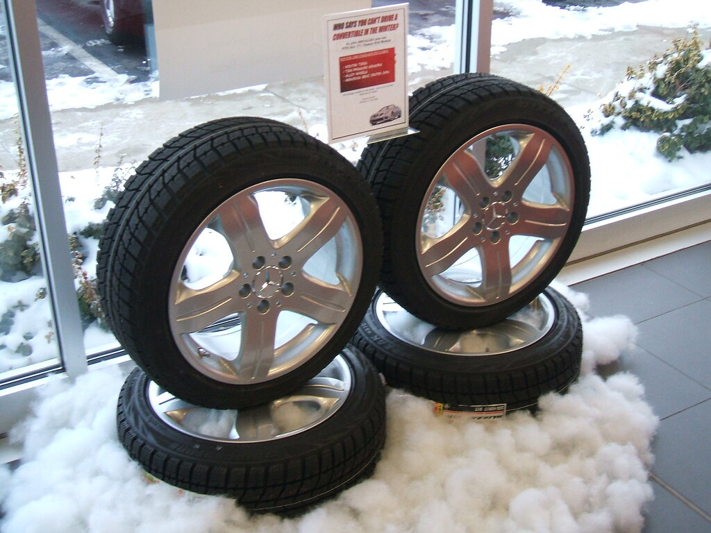 Mercedes Winter Tire Package