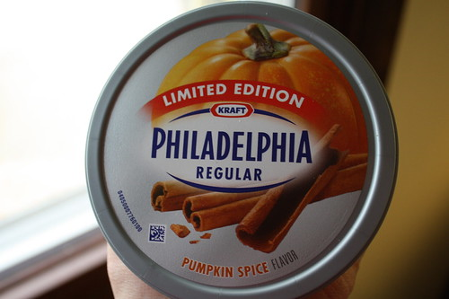 Philadelphia pumpkin spice cream cheese
