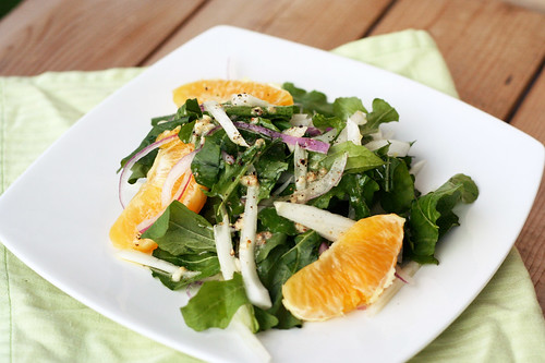 Arugula, Fennel and Orange Salad