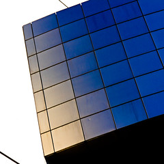 ~ (fidgi) Tags: blue abstract paris architecture square bleu opra bastille carr abstraite 500x500c289